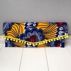 African Clutch Bag handmade ankara clutch bag clutch by JuneThirty