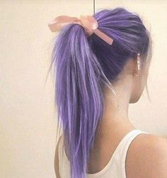 So let's talk about how I've been nothing short of obsessed with purple hair eve... Pastel lilac mermaid hair... Sooo pretty
