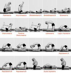 What Makes Ashtanga Yoga Different? Ashtanga Yoga, Vinyasa Yoga, Yoga Sequences, Yoga Poses, Easy Weight Loss, Healthy Weight Loss, Yoga Chart, Reiki, Yoga Pictures