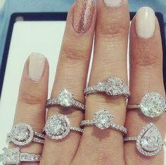 Bright Living Room with Gallery Wall Wedding Engagement, Wedding Day, Wedding Rings, Engagement Rings, Wedding Stuff, Diamon Ring, Art Deco Diamond, Ring Bracelet, Diamond Earrings