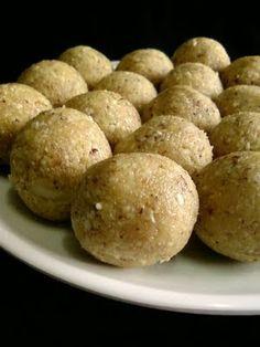 Palleela Kobbari Louse ~ Coconut Peanut Laddu | Indian Cuisine