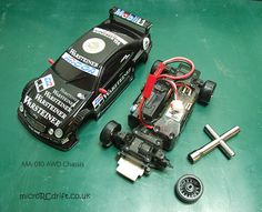 Kyosho Mini-Z AWD MA-010 Chassis for Drifting