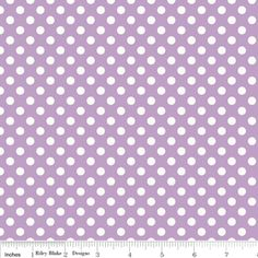 Riley Blake Designs: C350-120 LAVENDAR