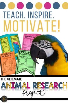 Looking for ideas on an Animal Research Project for kids guaranteed to inspire even your most reluctant students?  These printables are easy to differentiate and perfect for teachers in upper and lower elementary grades as well homeschoolers!  Click here to discover a variety of no prep graphic organizers, a lapbook project, Interactive Notebook foldables, and a plethora of other cross-curricular activities to easily integrate into your science lesson plans.