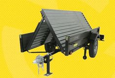 Cool folding trailer