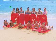 Me and my dance team in Honolulu