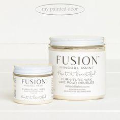 Fusion Furniture Wax - Clear — My Painted Door Paint Paint, Milk Paint, Grey Paint, Painting Kitchen Cabinets, Kitchen Paint, Furniture Wax, Painted Furniture, Oak Dining Sets, Honey Oak Cabinets