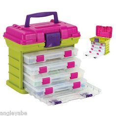Scrapbooking Totes 146401: Creative Options 1363 85 Grab N Go Rack System  With Two No.2 3630 Deep And One  U003e BUY IT NOW ONLY: $31.64 On EBay!