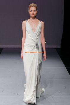 Preiswerte Elegante Hochzeitskleider aus Chiffon