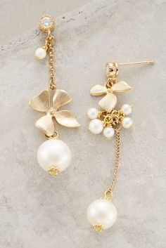Anthropologie Asymmetry Mismatched Drops #anthroregistry
