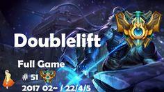 Challenger Full Game #51 Doublelift