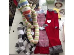 Sock monkeys are a big hit among kids and adults and now you can make your own!