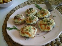 Vegetable Recipes, Starters, Baked Potato, Feta, Entrees, Paleo, Eggs, Vegetables, Cooking