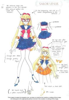 Sailor Moon 6: Art Book BSSM Original Picture Collection: Materials Collection at MangaFox.me