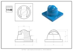 3D CAD EXERCISES 1149 - STUDYCADCAM Solidworks Tutorial, Cad Drawing, Drawing Practice, Autocad, Geometry, Exercises, Drawings, Exercise Routines, Drawing Exercises