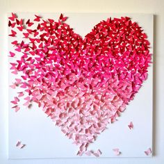February means Valentine's Day craft for most of people.For today we gather a great collection of 10 Simple Ideas For Valentine's Day Craft! Kids Crafts, Diy And Crafts, Arts And Crafts, Paper Crafts, Kids Diy, Diy Paper, Decor Crafts, Valentines Bricolage, Valentine Day Crafts