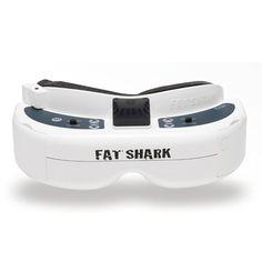 Fatshark Fat Shark Dominator HD3 HD V3 4:3 FPV Goggles Video Glasses Headset with HDMI DVR
