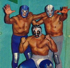 Bluedemon, Mil Mascaras, El Santo