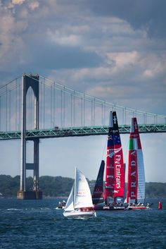 Americas Cup World Series Racing  Newport, RI This will have to be a must see while we live here