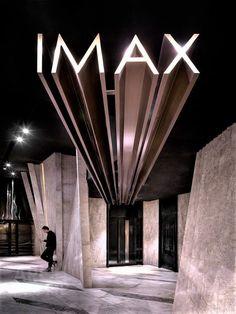 Кинотеатр в Китае архитектура, дизайн интерьера, кинотеатр, IMAX, проект, Китай, гуанчжоу, длиннопост