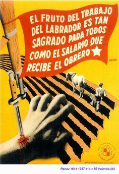 Spain - 1937. - GC - poster - autor: Josep Renau