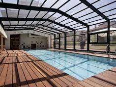 Resultado de imagem para piscinas cobertas com vidro