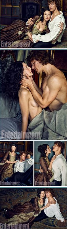 Sam and Cait pose for Entertainment Weekly in 11 gorgeous shots. Click through!