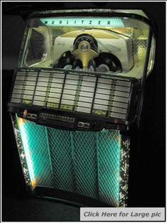 Jukebox sales in Essex, Jukeboxes for sale in Essex, Best selection of Jukeboxes made by Ami Bal-Ami Rock Ola Seeburg Wurlitzer for sale in Essex