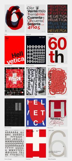Graphéine tribute #60helvetica Poster Helvetica tribute Graphic-design Typographie. https://www.grapheine.com/divers/happy-helvetica-poster-design Swiss style Pills red black white