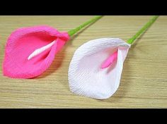 How to make sun drop origami paper flower|sun drop crepe paper flower making tutorials|paper crafts - YouTube