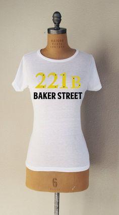 """""""Baker Street"""" Short Sleeved T-Shirt"""