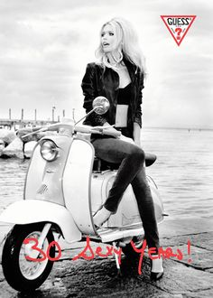 Ageless Claudia Schiffer poses for Guess 30th anniversary campaign