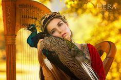 Hera - królowa Olimpu, bogini niebios i płodności, patronka macierzyństwa, opiekunka małżeństwa, piękna i rodziny
