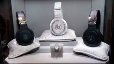 Apple to buy up Dr Dre's Beats Headphones for $3.2 Billion!   Didn't Dre do well. Good thing he chose headphones over another celebrity perfume/aftershave or sports shoe. Overpriced, but with good branding. Let's see what Apple does with this...
