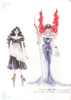 A fashion line based on Sailor Moon villains needs to be a Thing already. (Queen Beryl - Sailor Moon Materials Collection 1)