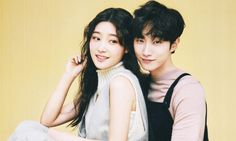 B1A4 Jinyoung and DIA Chaeyeon's Chemistry In Nylon Shoot Is Undeniable — Koreaboo