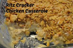 Yours, Mine & Ours: Ritz Cracker Chicken Casserole