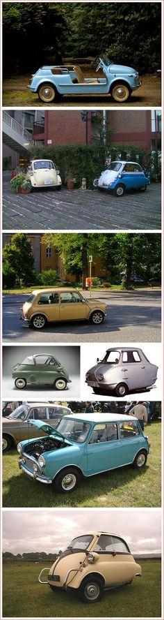 small & cute (& unrealistic) cars