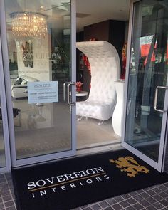 Welcoming our new Welcome mat at the home of #italianfurniture @sovereigninteriors #sydneyshowroom #interiordesign  #madeinitaly #interiors #instaluxury #luxury #luxuryhome #design #sydney #italiandesign #Italianmade #luxuryinteriors #sydneyhome #sydneyblogger #luxe #modern #modernhome #instagram #ordernow #instadaily #deluxe #instadaily #instainteriors #luxurylife #like4like #