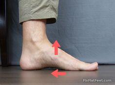 Correcting flat feet with exercise is something that I think is possible for many people. Below are some of the basic exercises from the program I used to Ankle Strengthening Exercises, Foot Exercises, Ankle Flexibility, Lower Leg Muscles, Fallen Arches, Flat Feet, Pilates Workout, Workouts, Brunettes