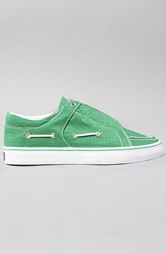 Luchese Sneaker in Green Ripstop