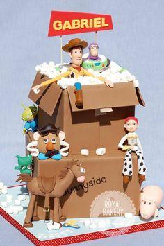 Toy Story Box Cake
