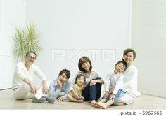 3世代家族団欒