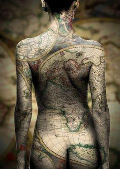 espalda mapamundi