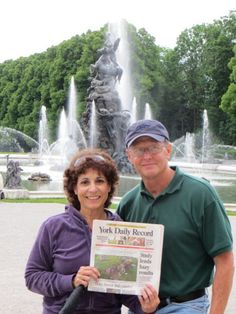 Ludwig's Palace in Bavaria   Photo posted by: Kathy Torkar   Jim & Kathy Torkar visiting friends in Germany, toured the Palace of King Ludwig at Herren-Chiemsee.