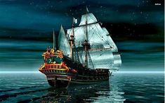 Image result for Pirate Ship Wallpaper