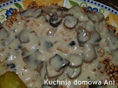 Sos pieczarkowy Polish Recipes, Polish Food, Roast, Goodies, Ale, Chicken, Baking, Desserts, Food Ideas