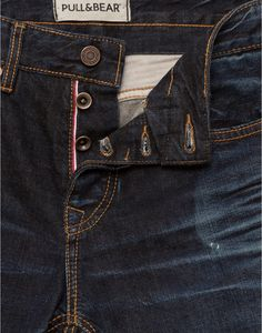 CONTRAST SEAMS BASIC JEANS - JEANS - MAN - PULL&BEAR Indonesia