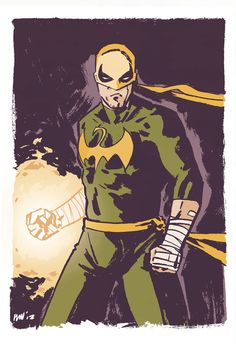 Iron Fist for Sketch Request Mondays.  This character was requested by @ERock19via twitter.  On a side note, I'll be selling this and any unsold sketch request monday originals at my booth in NYCC so be sure to stop by and say hello! If there is one you want specifically be sure to email me and I can save it for you.