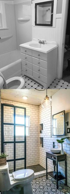 Before and After: Denver Bathroom by Rue Magazine